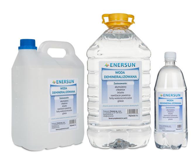 woda demineralizowana